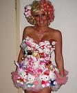 Lady Gaga Hello Kitty Homemade Costume