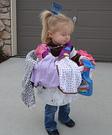 Homemade Laundry Basket Costume