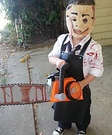 Leatherface's Son Homemade Costume
