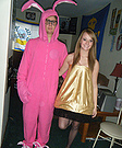 Pink Nightmare from A Christmas Story Costumes for Couples