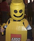 Homemade Lego Boy Costume