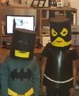 Homemade Lego Batman Costumes for Kids