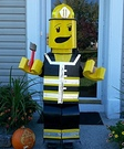 Lego Firefighter Costume