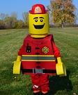 Lego Fireman Costume