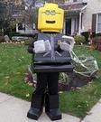 DIY Lego Man Costume