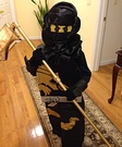 Lego Ninjago Cole Homemade Costume