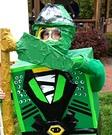 Lego Ninjago Green Ninja Homemade Costume