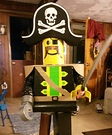 Lego Pirate Homemade Costume