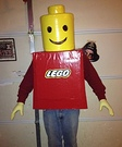 Legoman Homemade Costume