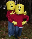 Homemade Lego Minifigs Costumes