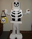 Homemade Lego Skeleton Costume