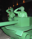 Life Size Green Army Men Homemade Costume