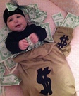 Money Bag Baby Costume