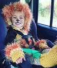 Lion Girl Costume