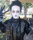 Homemade Edward Scissorhands Costume