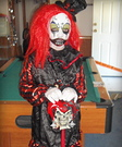 Little Insane Clown Halloween Costume