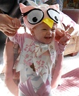 Animal costume ideas for babies - Little Owl