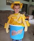 Mac n Cheese Homemade Costume