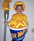 Easy Mac & Cheese Costume