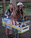 Magical Mystery Tour Bus Homemade Costume