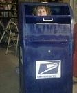 Homemade Mail costume