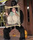 Homemade Man in a Cage Costume
