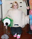 Homemade Marcel the Shell Costume
