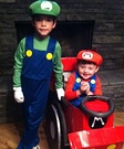 Mario Kart Boys Homemade Costume