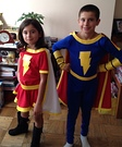 Mary Marvel and Captain Marvel Jr Costume