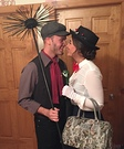 Mary Poppins and Bert Couple Homemade Costume