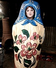 Homemade Matryoshka costume