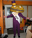 Homemade Mayor McCheese Costume