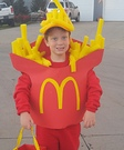 McDonalds Fries Costume