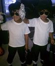 Michael Jackson Twins Homemade Costume