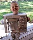 Microwave Costume