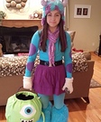 Mike and Sulley Homemade Costume