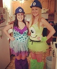 Mike and Sully from Monsters Inc. Costumes