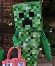 DIY Minecraft Creeper Halloween Costume
