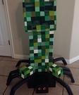 Minecraft: Creeper riding a Spider DIY Costume