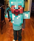 Minecraft Diamond Armor Steve Homemade Costume