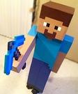 Homemade Minecraft Steve Costume
