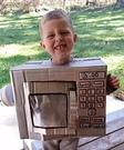 Mini Microwave Costume