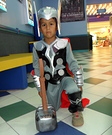Mini Thor Homemade Costume
