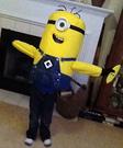 Homemade Minion Costume