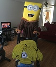 Minion with Bananas Costume