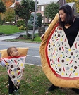 Mommy Pizza Pie and Baby Slice Costume