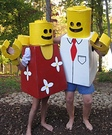 Homemade Lego Costumes for Kids