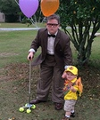 Mr. Fredrickson and Russell Costume