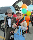 Mr. Fredrickson and Russell from Up Costume