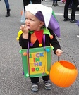 Mr. Jack in the Box Baby Homemade Costume